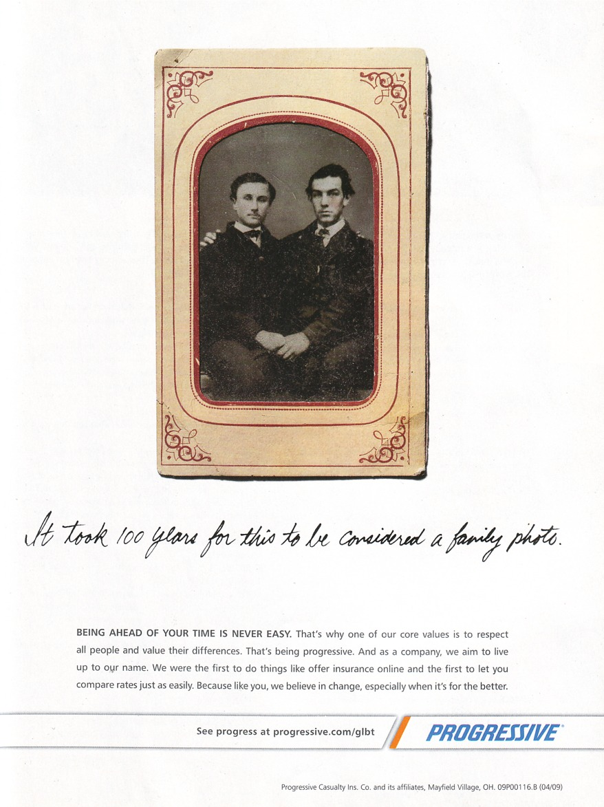 porgressive ad Part of our artisan handmade gay pride jewelry collection.